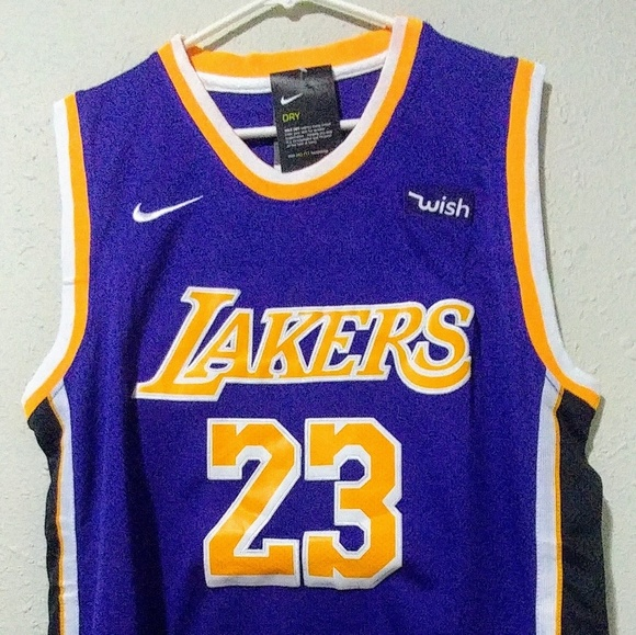 84e3f7840 Brand New LeBron James 2018-2019 Lakers Jersey